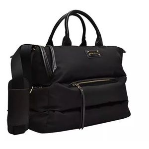Adrienne Vittadini Horizontal Quilted Duffle